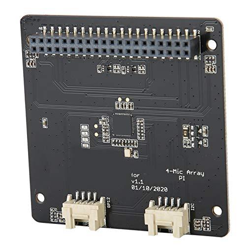 Hochleistungs-Flexible Voice-Erweiterungskarte Array-Erweiterungskarte Austausch Update Funktionale Erweiterungskarte Kompatibel mit Raspberry Pi