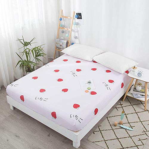 Amswsi Lenzuolo Nordic Beauty-Cute Strawberry_200 * 220 + 25 cm