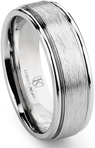 Titanium Kay Cobalt XF Chrome 8MM Di half Italian Seta Newport Dedication Finish