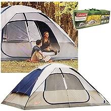 Coleman 2000006233 Glacier Creek 14' x 10' 8 Person 2 Room Camping Tent