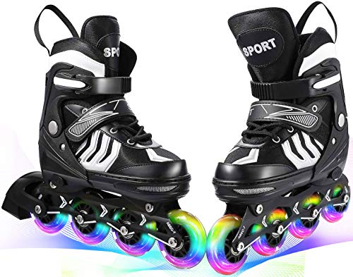 Hombre Ni/ños Inline Skates Tama/ños Ajustable 29-32//33-36//37-40//40-43 TEMPISH/® Magic Rebel Patines en L/ínea Mujer Cuchillas ABEC7 Chrome