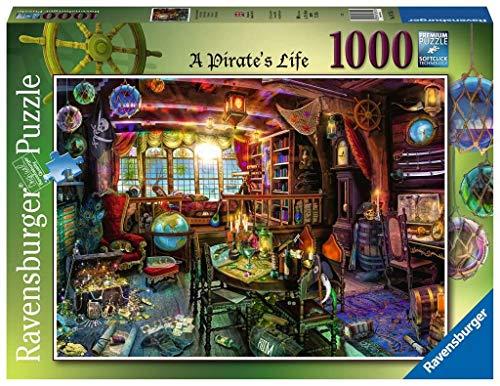 Ravensburger 16755 Aimee Stewart A Pirate's Life 1000 Teile Puzzle für Erwachsene & für Kinder ab 12 Jahren