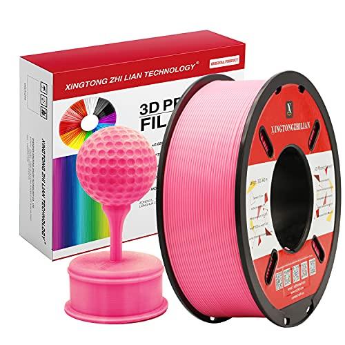 PLA Rosa Filamento de Impresión 3D 1.75mm Materiales Precisión +/- 0.02 mm 1kg/un...