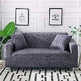 Funda de sofá elástica con Todo Incluido para Sala de Estar Funda de sofá con Estampado Floral Moderno Flexible Fundas para sofá A19 4 plazas