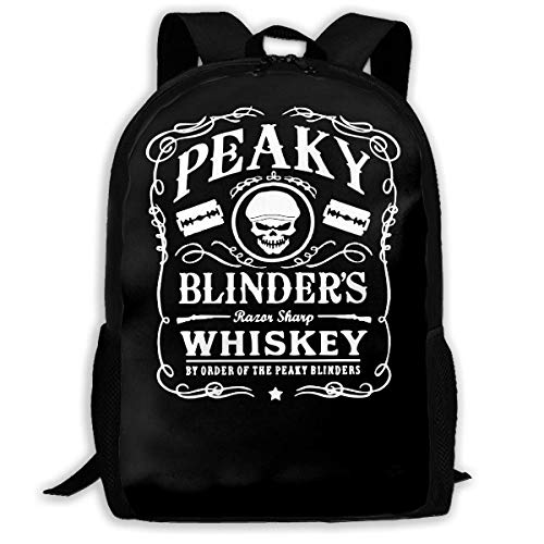 School Laptop Bag,Travel Knapsack,Waterproof Shoulder Backbag,Men Women Camping Backpack,College Rucksack,Peaky Blinders Razor Sharp