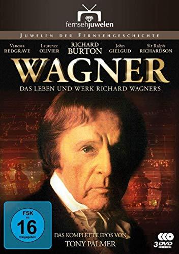 Wagner - Das Leben und Werk Richard Wagners (Die komplette Miniserie) (3 DVDs) (Fernsehjuwelen)