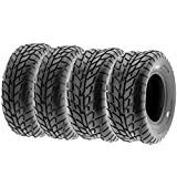 Set of 4 SunF A021 TT Sport ATV UTV Flat Track Tires 26x8-14...