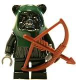 Lego Star Wars Tokkat Ewok Minifigure with Bow and Arrow