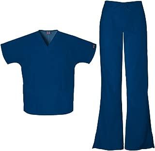 Workwear Women's 4700 Top & 4101 Pant Medical Uniform Scrub Set