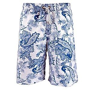 Prefer To Life Men's Board Shorts, Quick Dry Swimwear Beach Holiday Party Bermuda Swim Big Pants