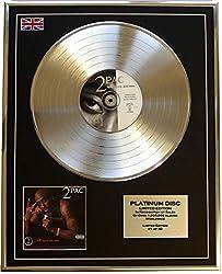 Everythingcollectible 2PAC /Limitierte Edition Platin Schallplatte/All Eyez ON ME