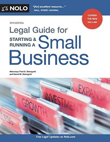 Compare Textbook Prices for Legal Guide for Starting & Running a Small Business Sixteenth Edition ISBN 9781413326130 by Steingold Attorney, Fred S.,Steingold Attorney, David