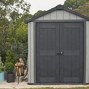 Keter-Oakland 759 Abri Résine, Gris Brosse, 229 x 261 x 230 cm