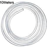 PVC Schlauch, 10m Silikonschlauch, Wasserschlauch Luftschlauch, Kraftstoffschlauch Benzinschlauch Ölschlauch, Druckschlauch hochflexibel (5 x 8 mm)