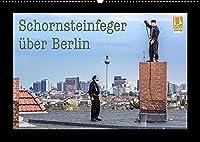 Schornsteinfeger ueber Berlin 2022 (Wandkalender 2022 DIN A2 quer): Der Gluecksbringer im Handwerk ist natuerlich der Schornsteinfeger. Bei seiner Arbeit in luftiger Hoehe erlebt er oft die schoensten Aussichten wie hier in Deutschlands Hauptstadt Berlin. (Monatskalender, 14 Seiten )