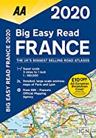 AA 2020 Big Easy Read France (Aa Road Atlas France)