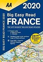 AA 2020 Big Easy Read France (Aa Road Atlas France)