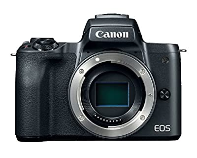 Canon EOS M50 Mirrorless Digital Vlogging Camera with EF-M15-45mm lens and EF-M 55-200mm lenses with 4K Video and Touch LCD Screen, Black from Canon