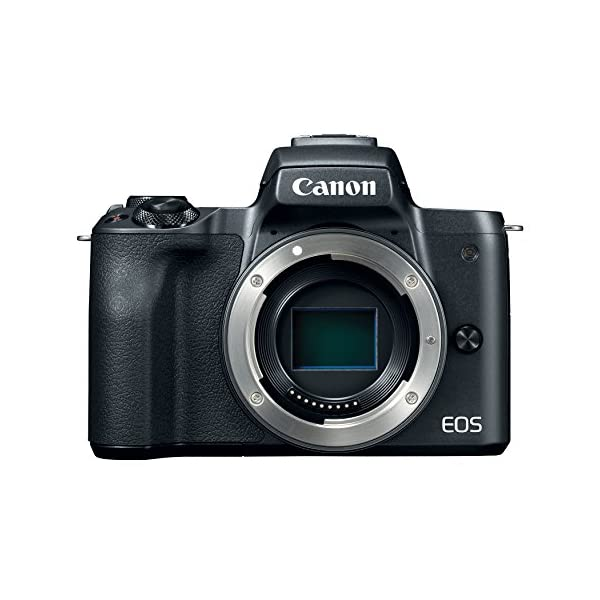 Canon EOS M50 Mirrorless Digital Vlogging Camera with EF-M15-45mm lens and EF-M 55-200mm...