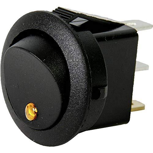 HP-Autozubehör 28632 Wippschalter Mini Leuchte, Gelb
