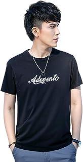 Demon&Hunter TX2 Seires Hombre 100% algodón Sin Costura algodón Crew Camiseta