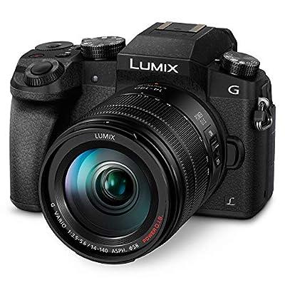PANASONIC LUMIX G7 4K Digital Camera, with LUMIX G Vario 14-42mm MEGA O.I.S. Lens, 16 Megapixel Mirrorless Camera by