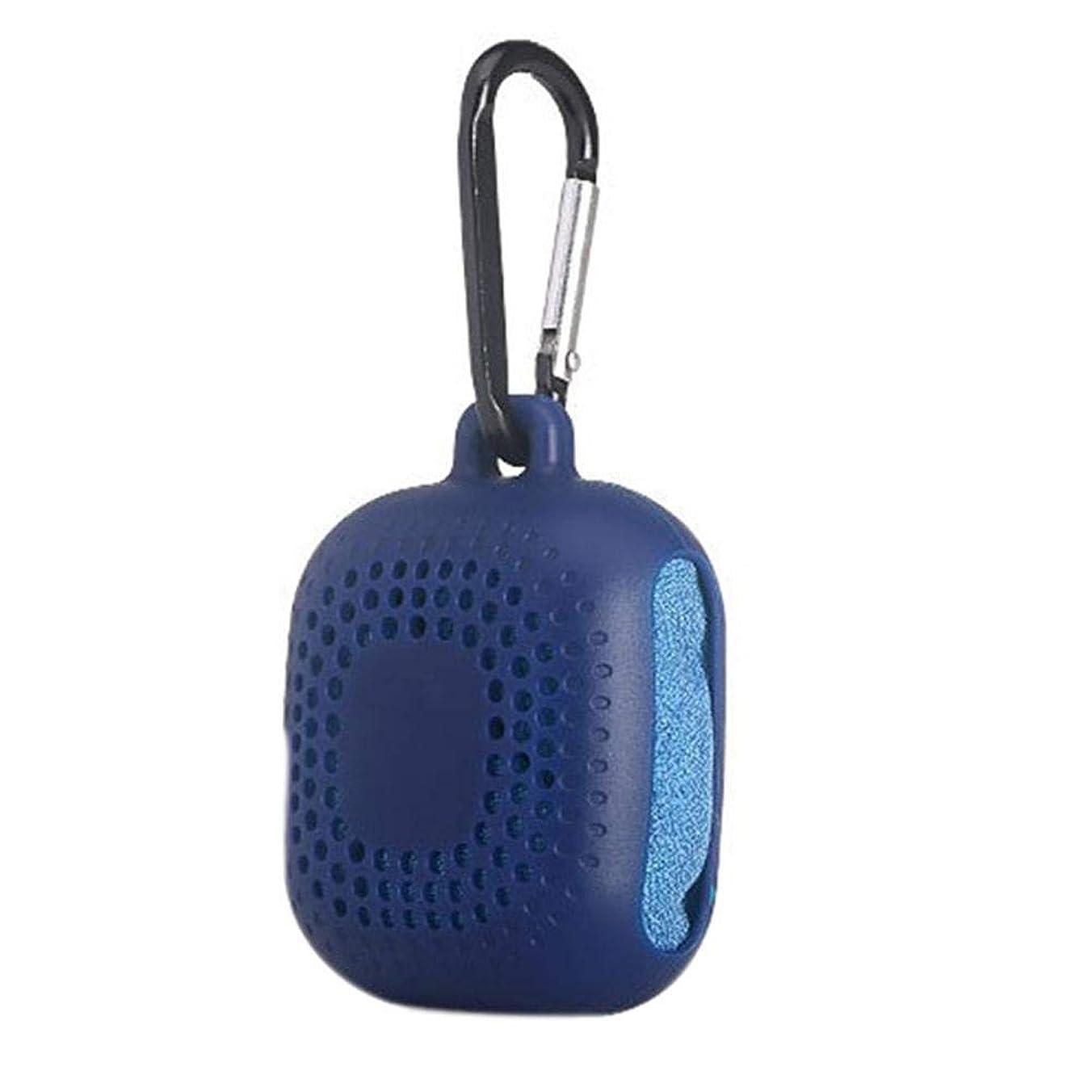 プーノ中に対抗Ling(リンー) タオル 運動タオル 柔らかい 超軽量 速乾性 携帯便利 バッグにかけ 収納ケース付け