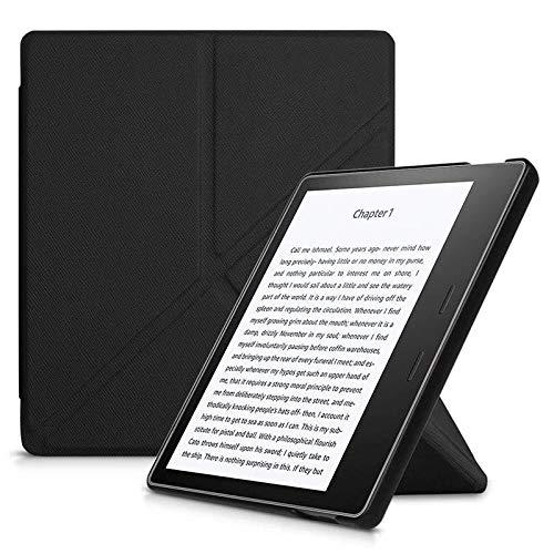 Capa Kindle Oasis 3 - Auto Hibernação - Fechamento Magnético - Origami - Preta