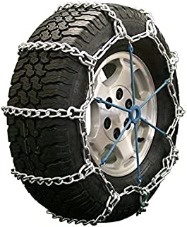 Quality Chain Road Blazer Mud Service Non-Cam 8mm Link Tire Chains (2435HH)