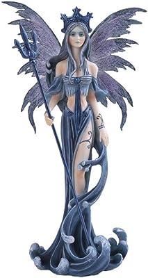 StealStreet SS-G-91200 Fairy Collection Blue Pixie Desk Decoration Figurine Collectible Decor