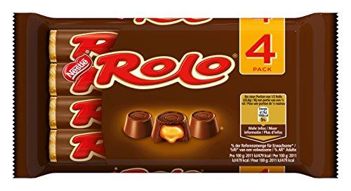 Nestlé Rolo Praline mit Toffee, (4 x 41,6 g)