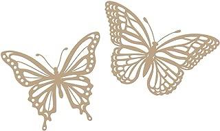 Spellbinders GLP-141 Butterflies Glimmer Hot Foil Plate & Die Set, Metal