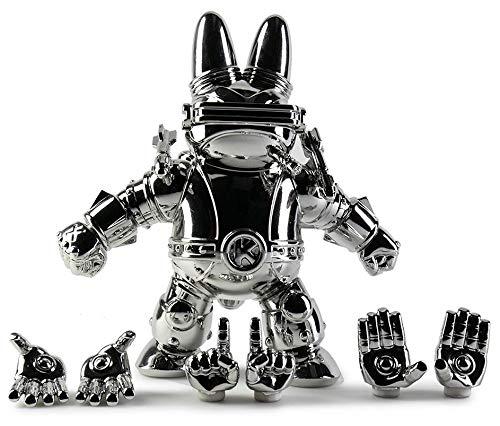 Labbiter XK-5 Art Toy Figure by Frank Kozik KidRobot Exclusive Chrome Edition