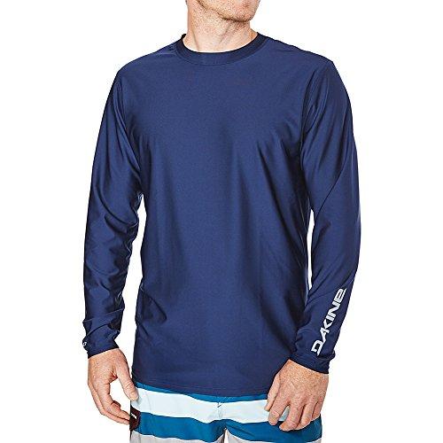 DAKINE 2018 Heavy Duty Loose Fit Long Sleeve Surf Shirt Black 10001653