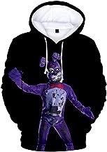 ppqq Five Nights 3D Hoodie Unisex Kids Pullover Hooded FNAF Sweatshirt for 6-20T