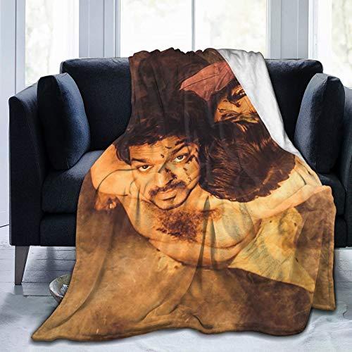 Ma-ster Ta-mil Póster vij-ay Vij-ay Seth-upathi Fundas para reposabrazos de silla, manta individual, supersuave, mullida, tamaño de viaje para sofá, silla, sofá, 80 x 60 pulgadas
