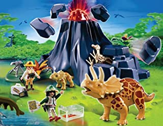 Playmobil Triceratops with Baby