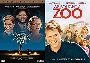 From The Matt Damon Family Film Collection: We Bought A Zoo & The Legend of Bagger Vance (Double Feature Dvd Bundle)
