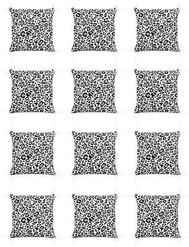 Amilian Baby Nestchen Bettumrandung 420 cm x 35 cm Bettnestchen Kantenschutz Kopfschutz für Babybett Panther-Muster Grau