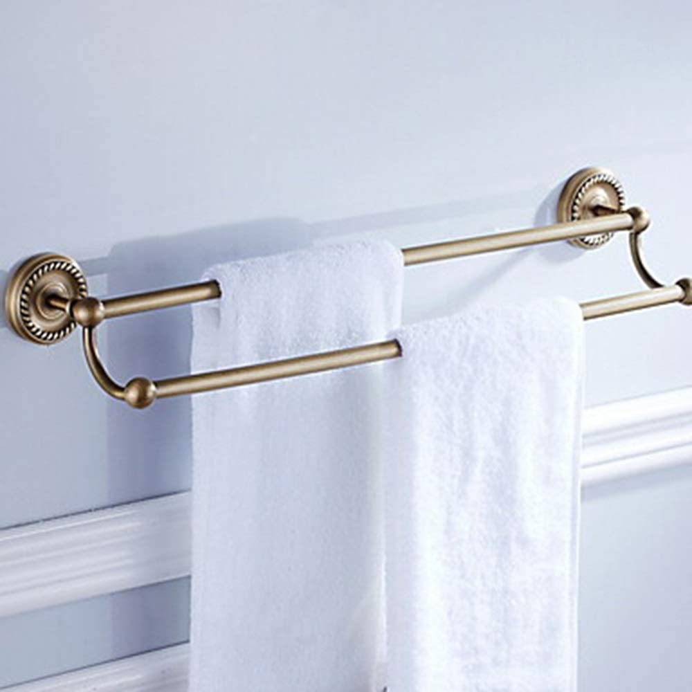 Bathroom shelf Shelf Double Towel Department store Wall Challenge the lowest price Holder Mounted 6