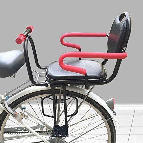 Asiento bicicleta de niño, con apoyabrazos y asiento de metal pedal de la bicicleta de seguridad de los niños Ultraligero metal fácil de instalar asientos de seguridad for Mountain / Híbridos / Bicicl