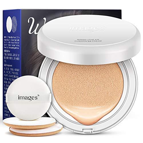 Yiwa Crème BB respirante Air Cushion Light Concealer Foundation Liquide naturel léger BB Cream Remplacement de couleur de peau claire 15g