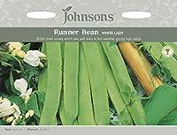 【輸入種子】 Johnsons Seeds Runner Bean WHITE LADY ランナー・ビーン ホワイト・レディ ジョンソンズシード