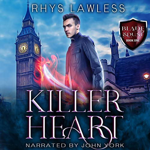 Killer Heart: A Breathtaking MM Urban Fantasy Titelbild