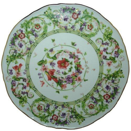 Versace by Rosenthal Flower Fantasy 12-2/3-Inch Tart Platter