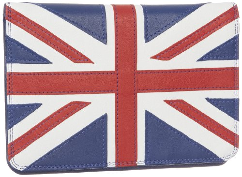 Leather Union Jack Passport Cover