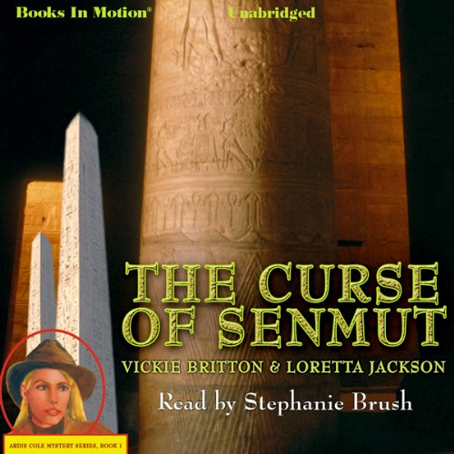 The Curse of Senmut audiobook cover art