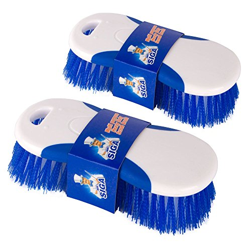 MR.SIGA Multi purpose Heavy Duty Scrub Brush - Pack of 2