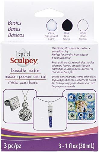 Polyform Sculpey Liquid Polymer Clay – Basics, Multicolor