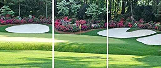 3D METAL Wall Art Ready to Hang13th Hole Augusta National The Masters Tournament 3 Wall Panels 14 x 33 Uniqu Art Décor